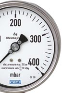 Differential pressure gauge model 732.51