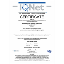 Matrix certification makes process quality transparent